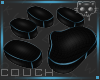 Couch BlackBlue 2a Ⓚ