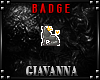 GiA Badge - Queen Wolf