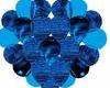 heart ballons blue