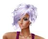 Hair Purple Highlights