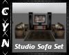 Studio Sofa Set T.V.
