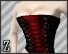 Crimson Bust corset