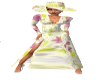 PD Spring Flower Gown