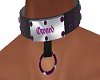 Purple Jewled Collar v2