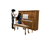 Old West Piano animated