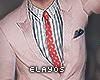£ - Chuck pink suit.
