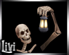 Day Skull Lamp Animated