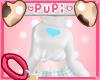 ~p~ Blue heart Sweater