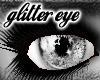 glitter silver eye