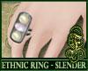 SL- Ethnic Ring White V1