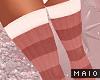 🅜 GINGER: thigh socks