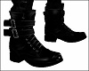 Black Strapped Up Boots