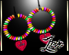 Rainbow Loveeearrings