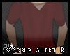 ♂Scrub Shirt R