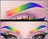 LL* Rainbow Eyebrows