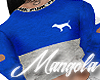 [PINK] Jogger Top Blue