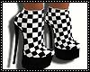 checkered Heels/B