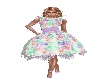 Flowered 50s Party Dress