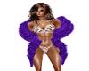 Boa Fur Lizzy Purple