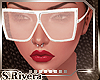 SR* Ella Glasses white