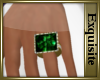 *EE* Eva Emerald Ring