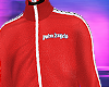 track jacket Palm red