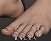 ♛ Realístic Feet.