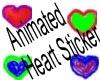 animated heart sticker