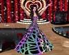 Neon Sparkle Gown