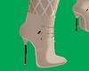 Tan Sheer Boots
