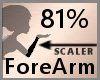 Scale ForeArm 80% F A