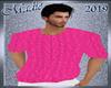 !b Knit Sweater Hot Pink