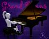 Concert Grand Piano, blk