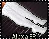[A] Gala White Boots