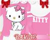 ✿ Kitty ◦ Hoodie