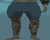 Shorts and leg tats