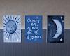 ☾ cosmic nursery art