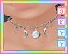 Lunas Moon Necklace