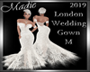 !a London Wed  Gown M