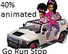 kids minnie Jeep ride