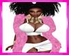 Bimbo Pink Fur Boa