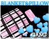 Baby Pink Plaid Blanket