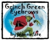 Grinch Green Eyebrows