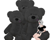 TeddyBear Family Black