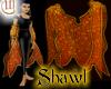 Shawl - Orange and Gold