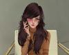 JC Camelia Coffee Hair