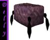 ~D~purple swirl pillow