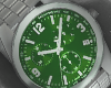 Green Plated Watch