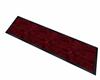 red velvet rug runner