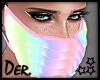 Jx Ruffled Face Mask M